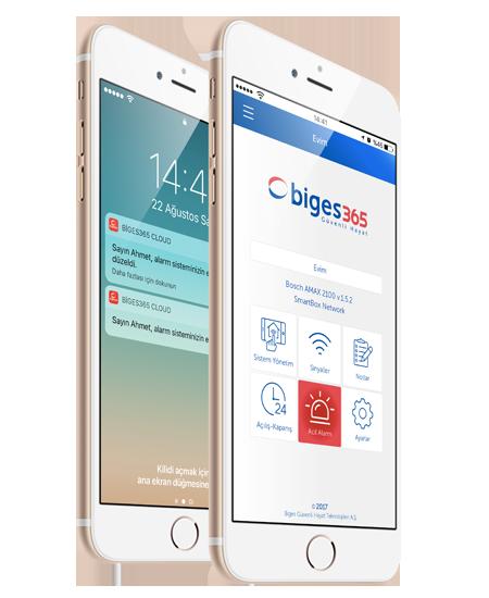 Biges 365 Cloud Mobil Uygulaması